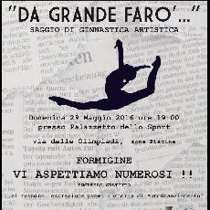 """VISPORT - """"Da grande farò.... """"- Saggio di ginnastica artistica - Palazzetto dello sport di Formigine"""